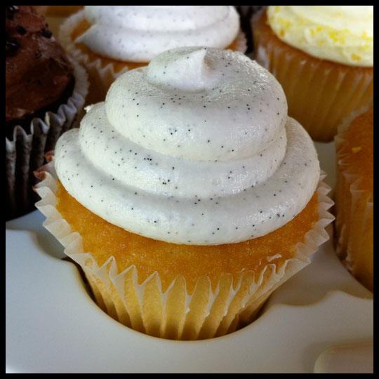 Vanilla Bean : Vanilla cake with a sweet vanilla cream filling and ...