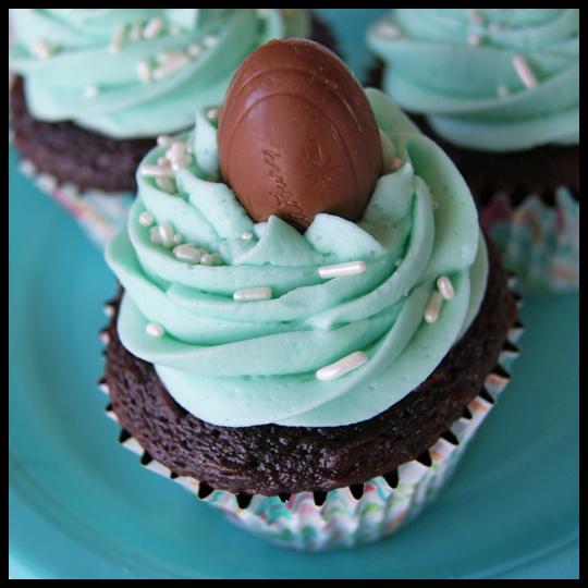 A Baking Adventure: Cadbury Creme Egg Cupcakes (5/5)