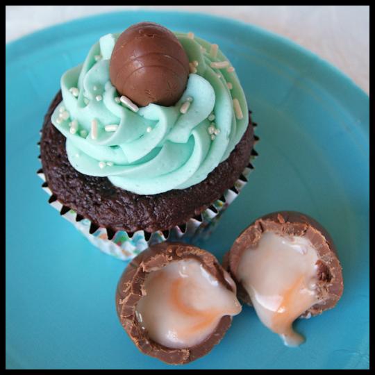 A Baking Adventure: Cadbury Creme Egg Cupcakes (1/5)