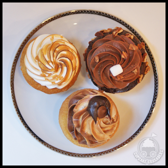 ... Cupcakes, including: Banana's Foster, Rocky Road, and Moose Tracks