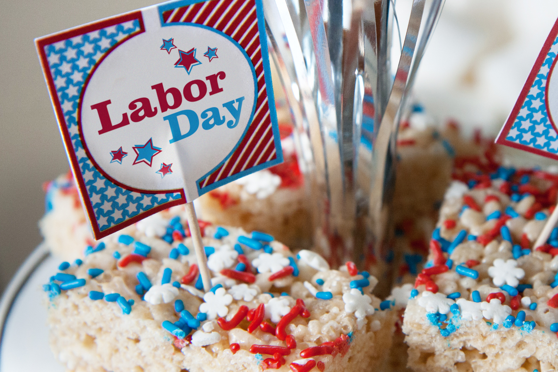 Image result for labor day cupcakes